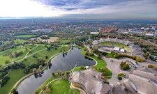 Olympiapark in München: Die Hoteliers der bayerischen Landeshauptstadt verzeichneten im ersten Quartal 2020 die größten Einbußen