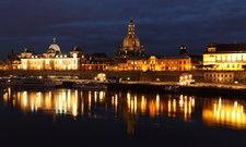 Dresdens Skyline: In der Stadt an der Elbe mussten die Hoteliers besonders schwere Einbußen hinnehmen