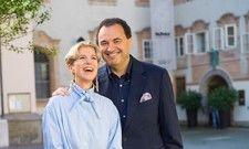 Stehen kurz vor der Wiedereröffnung und verlieren nicht den Mut: Die Gastronomen Veronika Kirchmair und Claus Haslauer