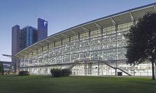 Verwaistes Messegelände: Die Deutsche Messe in Hannover musste auch die führende Industrieschau Hannover Messe annullieren.