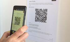 Check-in per QR-Code: So kann der Gast über die App 2FDZ beim Restaurantbesuch seine Daten hinterlassen