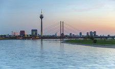 Standort Düsseldorf: Bei den Zimmerpreisen verzeichneten Hotels am Rhein sogar höhere Werte als im Vorjahr.