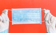 Fester Bestandteil des Schutzkonzepts: Masken sind für Personal in der Gastro nun unumgehbar