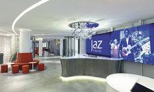 Die Lobby im Jaz in the City wird sich nach dem Restart verändern.