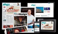 Breites Portfolio: Unsere Medienmarke ahgz umfasst mehrere Print- und Digitalprodukte