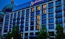 Da waren es nur noch sieben: Das Radisson Blu Hotel in Berlin zählt die Tage bis zur Wiedereröffnung