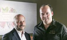 Kreatives Duo: Fabian Engelhorn, CEO des Modehauses Engelhorn (links) und 2-Sterne-Koch Tristan Brandt. Fabian Engelhorn ist der Sohn des verstorbenen Richard Engelhorn