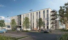 So soll es aussehen: Das neue Budget-Hotel Mc Dreams in München-Eching