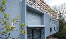 Hereinspaziert: Auf dem Parkhausdach der Traube Tonbach sind in Leichtbauweise die vorübergehenden Restauranträume entstanden