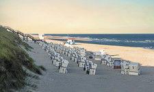 Strandkörbe auf Sylt: Die nordfriesische Insel war zu Pfingsten Spitzenreiter bei Auslastung und Zimmerpreis.