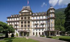 Das Lindner Grand Hotel Beau Rivage in Interlaken: Wer beispielsweise aus Lübeck anreist, übernachtet drei Nächte gratis