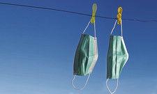 Gehen Hygiene und Nachhaltigkeit zusammen? Ja, denn zumindest Mundschutz-Masken kann man waschen, trocknen und wiederverwenden.