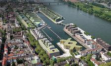 Gefragtes Quartier: Der Zollhafen Mainz