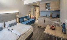 Für Selbstversorger: Eine der Longstay-Suiten der Linie Ana Living mit Küche.