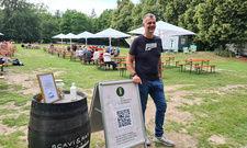 Der Kopf hinter dem digitalen Biergarten: Gastronom Marcus Gessler