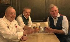 Auf geht's: (v.l.) Wirte wie Alfons Schuhbeck und Gregor Lemke sowie Kabarettist Christian Springer machen sich für den Gastro-Restart stark
