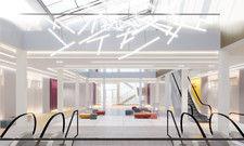 Rendering: Das Foyer im Estrel Auditorium soll Anfang 2021 komplett fertig sein