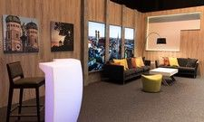 Neuer Service für Veranstalter: Das Münchner Hotel bietet ein vollausgestattetes TV- und Streaming-Studio