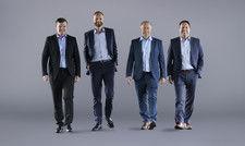 Sie wollen an einem Strang ziehen: Das neue Key-Account-Team von J.J. Darboven