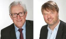 Nachfolge geregelt: Martin Dannenmann (links) gibt an Ralf Hein ab