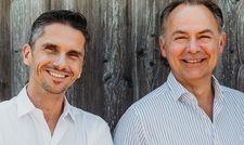 Duo: Gesamtverkaufsleiter Thomas Horak (links) und Almdudler-Chef Gerhard Schilling