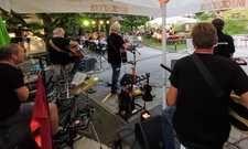 Auch sie freuten sich, mal wieder live spielen zu können: Die Band Unplagued Prochecked