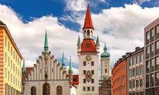 Münchens Innenstadt: In der bayerischen Hauptstadt sind Mieten und Pachten sehr hoch