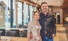 Die neuen Gastgeber im Romantik Hotel Alte Posthalterei: Manuela und Marc Schumacher