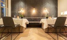 Moderner Look: Gastraum im Restaurant Balthazar