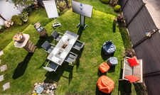 Besprechungen im Grünen: Im Eventgarten des Hotels Das Donners in Cuxhaven ist die frische Luft garantiert