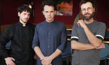 Das Team: (von links) Amodio Iezza, Giacomo Mannucci, Matthias Rainer
