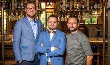 Starkes Team: (von links) Matthias Pfundstein, Benjamin Schreiber und Farid Fazel