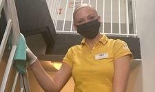 Vom Lehrling zur Hygienechefin: Joy Yella Hoyer hat schon ihre Ausbildung bei a&o absolviert