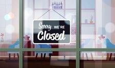 Lokal auf Anordnung geschlossen: Wer kommt für den Umsatzausfall auf?