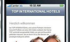 App von Top International: Mobil ins Hotel