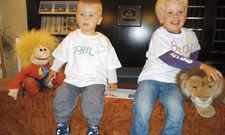 Kleine Gäste kommen groß raus: Direkt bei der Ankunft wird ein T-Shirt bemalt