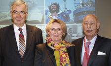 Optimistische Tourismus-Profis: (von links) Ernst Burgbacher, Petra Hedorfer und Klaus Laepple