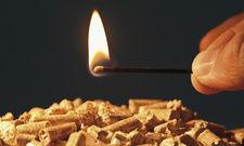 Feuer frei: Wer sich für eine Holzpellets-Heizung entscheidet, braucht viel Lagerraum