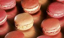 Heiter: Macarons à la pêche, à l'abricot et au safran (Eden)