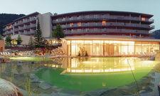 Bleibergerhof in Bad Bleiberg: Das Haus verfügt über einen 2500 Quadratmeter großen Spa-Bereich