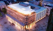 So soll's aussehen: Ein Entwurf der Ingenhoven Architects für das Kölner Dom Hotel