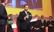 Überzeugte Jury und Publikum: Benedikt Rudolph hat den Deutschen Hotelnachwuchs-Preis 2015 gewonnen